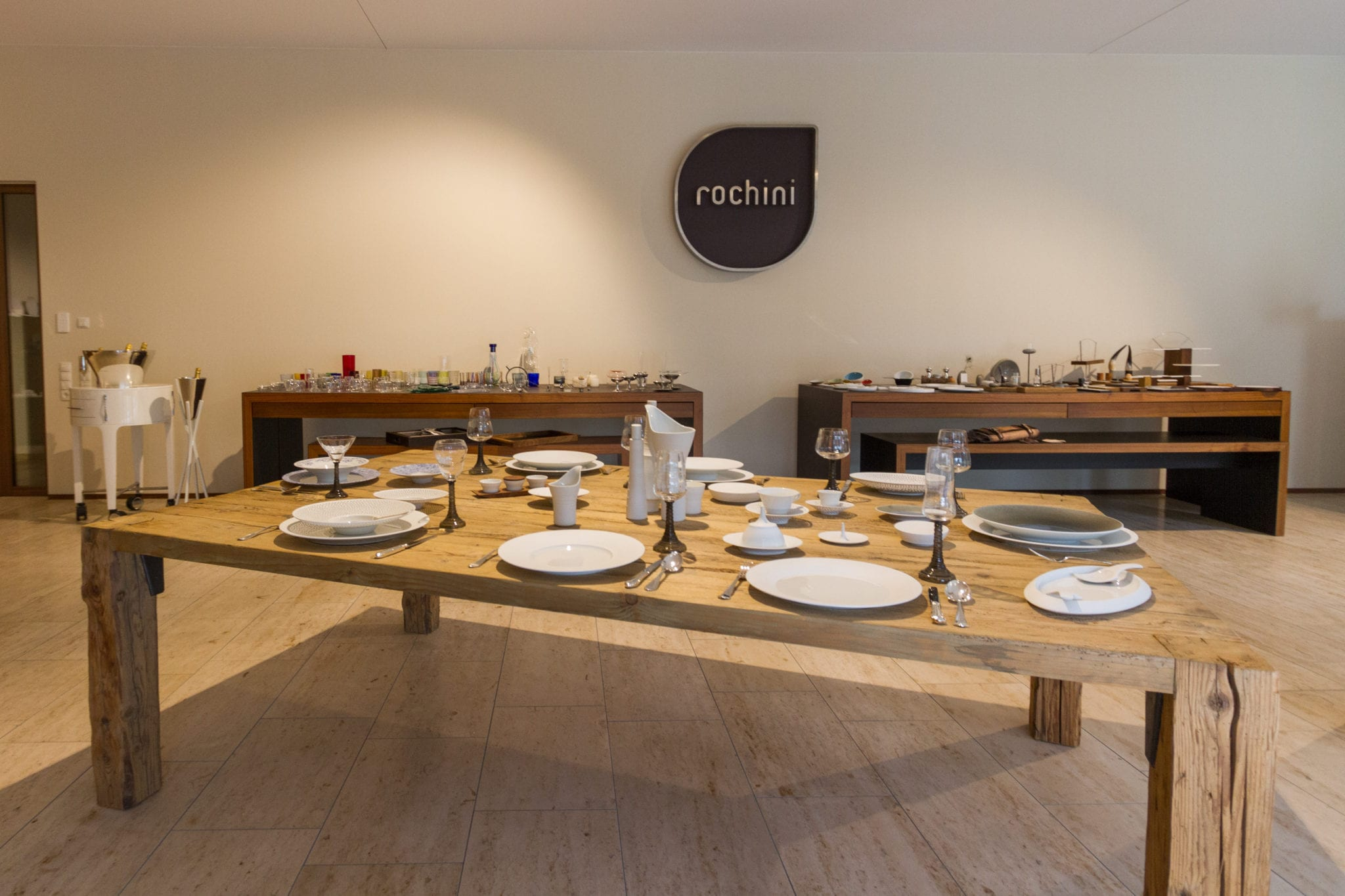 rochini showroom 31 I started in 2009 as a 100% cross company in this sector, without any customer...