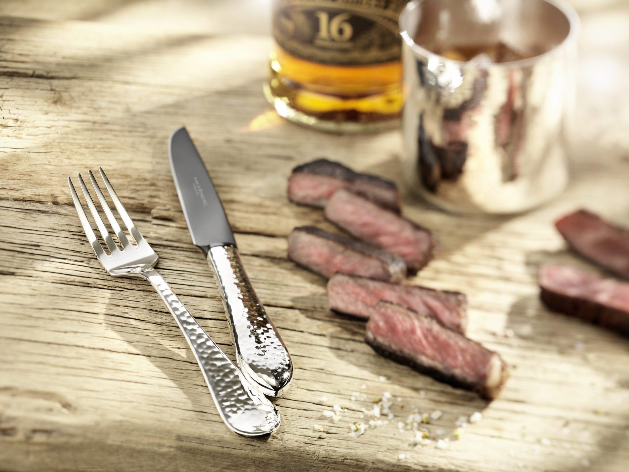 Martele Steakbesteck   Steak cutlery STYLISH BARBECUE