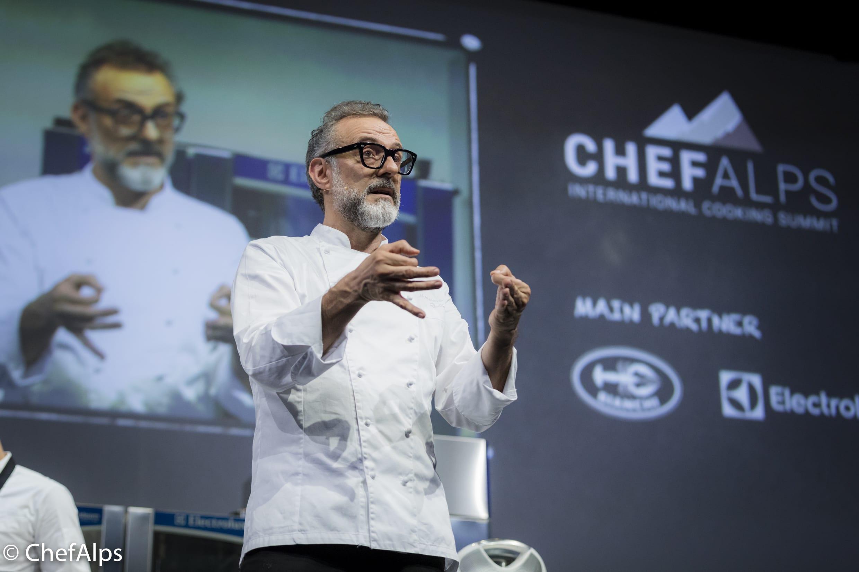 ChefAlps 2018 Massimo Bottura 4932 0272 No1 Worlds 50 Best Restaurants 2018 meets ROCHINI