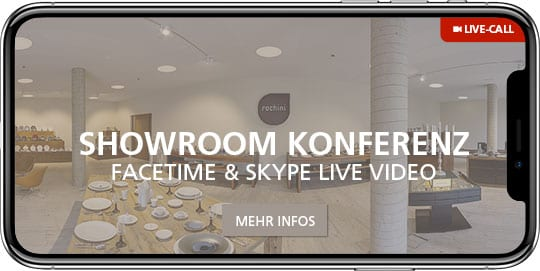 rochini showroom konferenz Kontakt