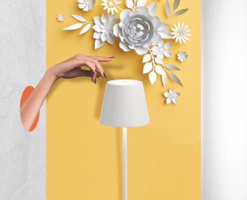 AiLati Poldina WHITE 495x400 Lampe a´porter