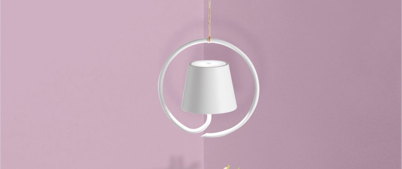 AiLati Poldina hanging WHITE 1500x630 Lampe a´porter