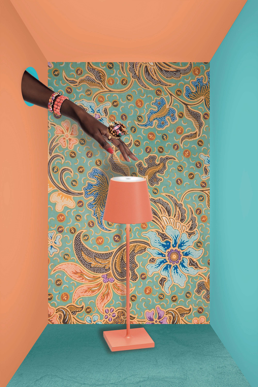 AiLati Poldina table ORANGE Lampe a´porter