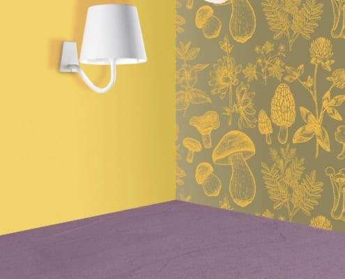 AiLati Poldina wall WHITE 495x400 Lampe a´porter