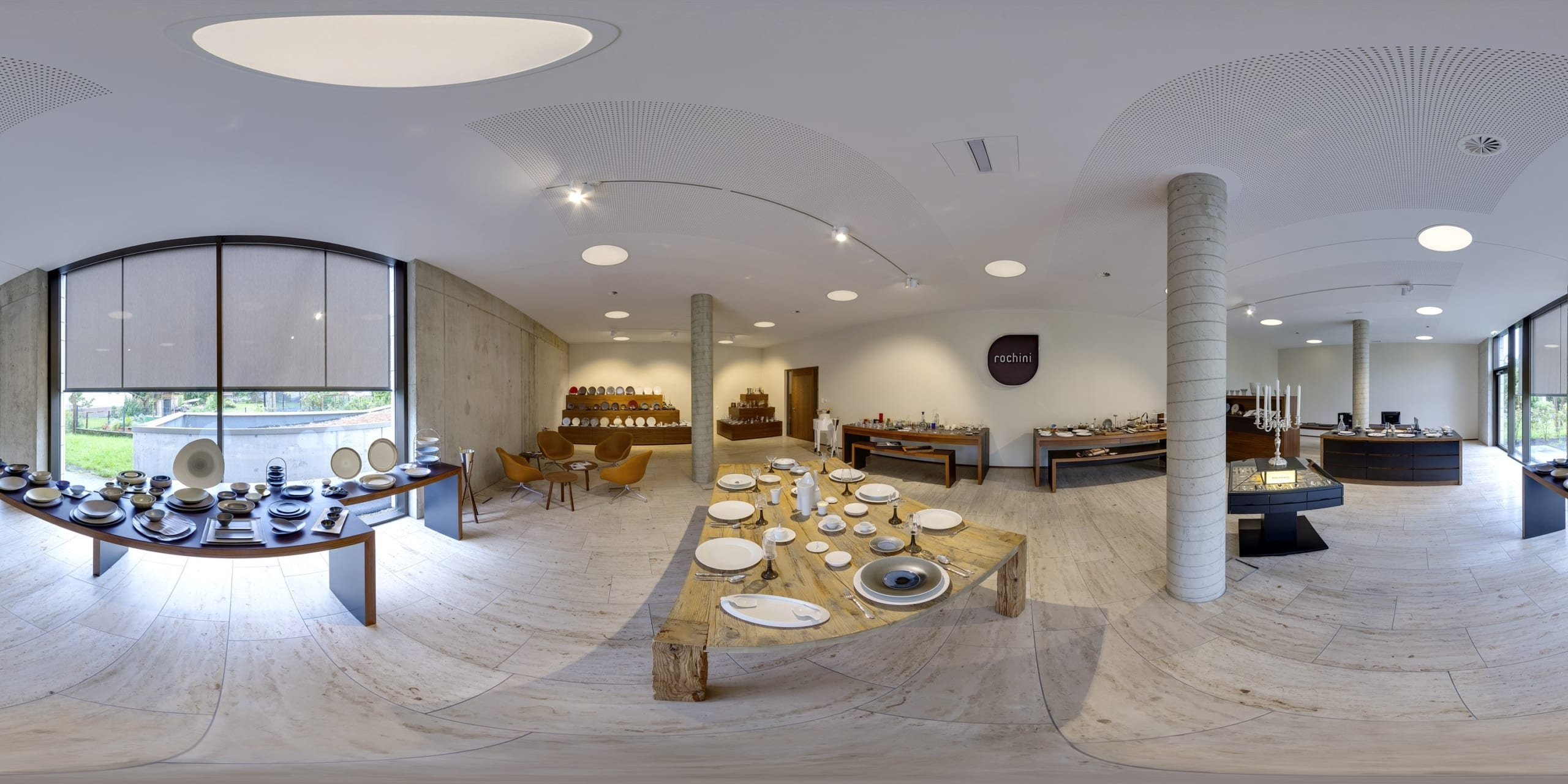 360 showroom scaled The Rochini family   we do everything for finest tabletop