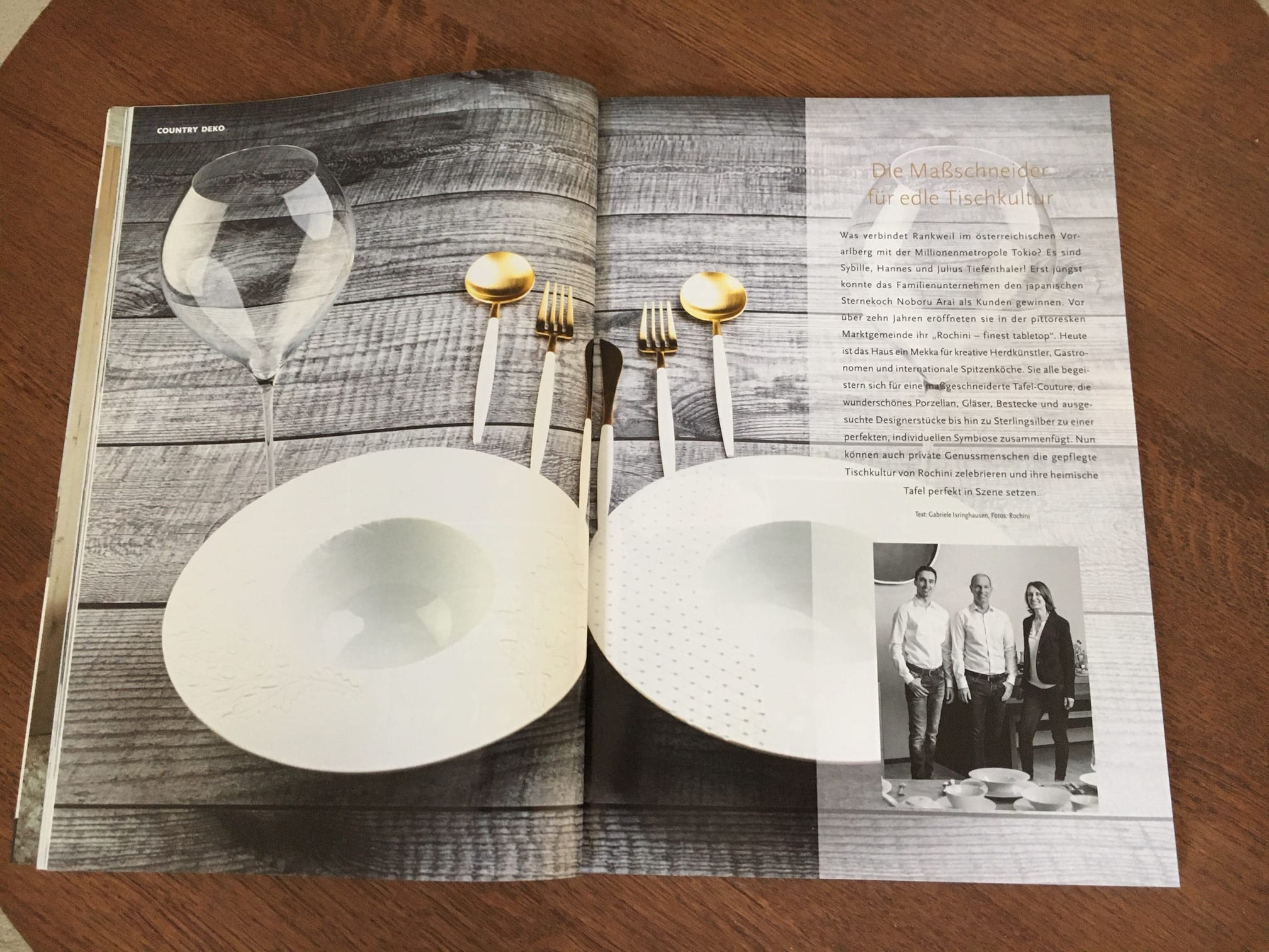 IMG 6354 Die Maßschneider für edle Tischkultur