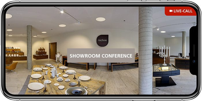 live showroom conference Home